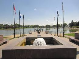 The fountain at  Pierre, South Dakota